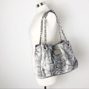 Nicole by Nicole Miller | Snake Print Hobo Bag